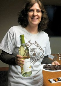 Bryn with Chocolate and Wine